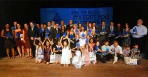 Vencedores da 11ª Edição do Prêmio Ouro Azul foram apresentados no Teatro da Alterosa